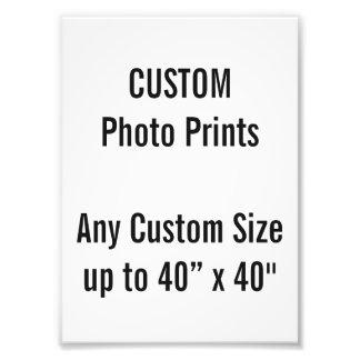 Custom 130 x 180mm Photo Print UK Frame Size