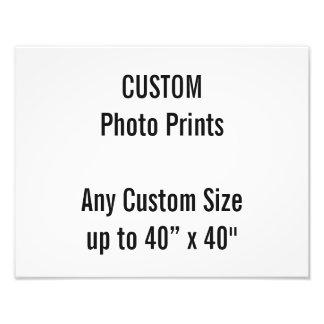 "Custom 14"" × 11"" Photo Print  US Frame Size"