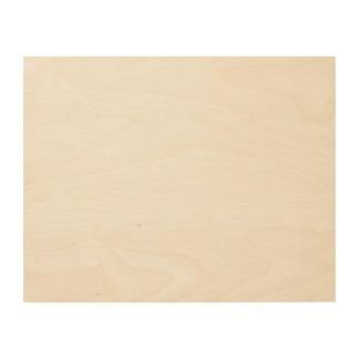 Custom 14x11 Wood Canvas