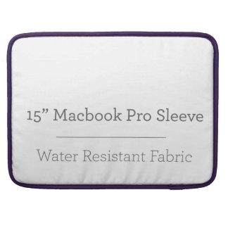 Custom 15in Macbook Pro Sleeve