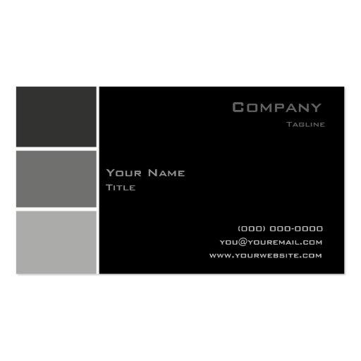 Custom 162 business card