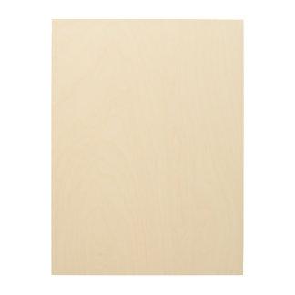 Custom 18x24 Wood Canvas