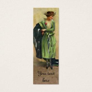 Custom 1920 Vintage Fashion Tag or Card