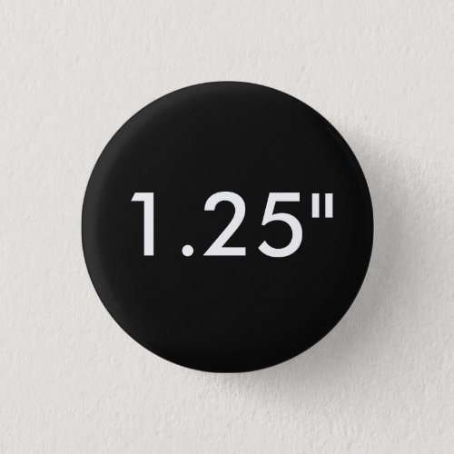 Custom 125 Small Round Badge Blank Template Pinback Button