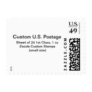 Custom 1st Class 1 oz Postage (Small Size)