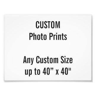 Custom 200 x 150 mm Photo Print UK Frame Size