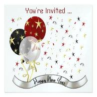 Custom 2014 New Year Party Invitation
