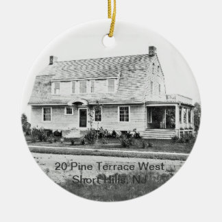 Custom 20 Pine Terrace West  Ceramic Ornament
