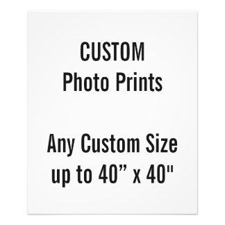 "Custom 20"" x 24"" Photo Print  US Frame Size"
