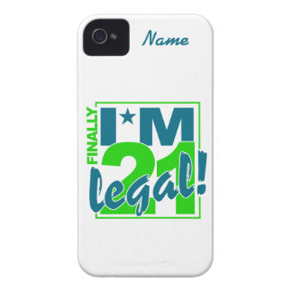Custom 21 & Legal iPhone 4 Case-Mate