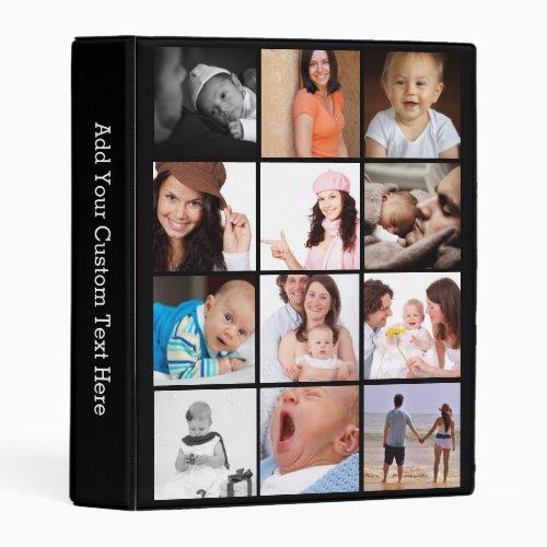 Custom 24 Photo Collage Mini Binder