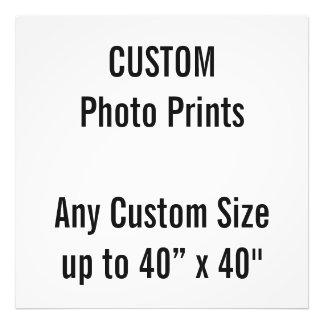 "Custom 28"" x 28"" Photo Print (or any custom size)"