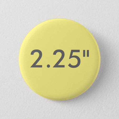Custom 225 Standard Round Badge Blank Template Pinback Button