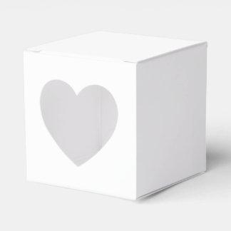 Custom 2x2 Favor Box With Heart