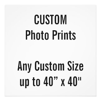 "Custom 32"" x 32"" Photo Print (or any custom size)"