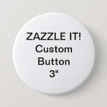 "Custom 3"" Button Badge Pin Blank Template"