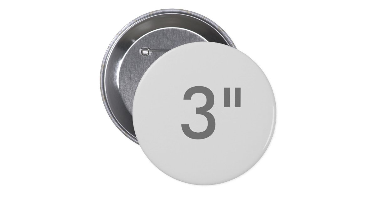custom 3 inch large round badge blank template button zazzle. Black Bedroom Furniture Sets. Home Design Ideas