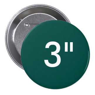 """Custom 3"""" Inch Large Round Badge Blank Template Pinback Button"""
