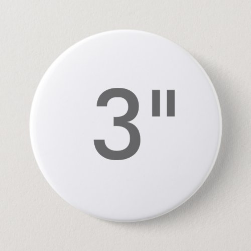 Custom 3 Inch Large Round Button Blank Template