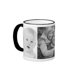 Custom 3 Instagram Photos Coffee Cup Any Color Coffee Mug