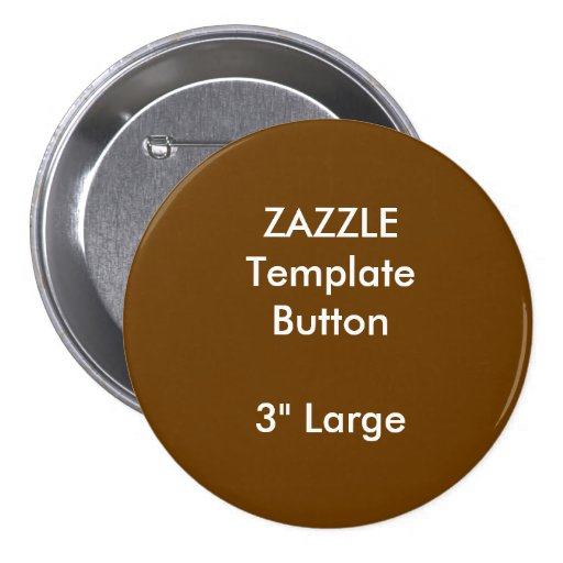 custom 3 large round button blank template zazzle. Black Bedroom Furniture Sets. Home Design Ideas