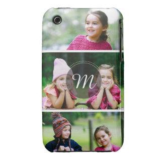 Custom 3 Photo iPhone 3 Case