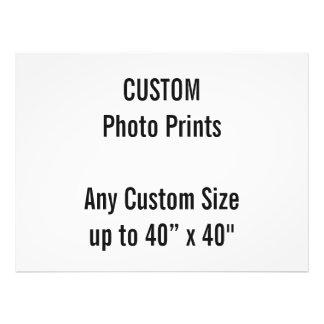 "Custom 40"" x 30"" Photo Print  US Frame Size"