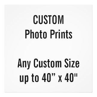 "Custom 40"" x 40"" Photo Print (or any custom size)"