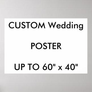 "Custom 48"" x 32"" Poster MATTE Landscape"