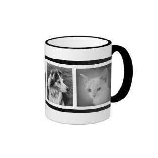 Custom 4 Instagram Photos Coffee Cup Film Strip Mugs