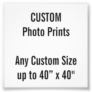 "Custom 4"" x 4"" Photo Print (or any custom size)"