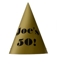 Custom 50th Birthday Party Hat
