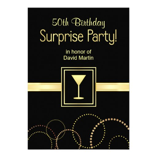 50Th Surprise Party Invitations is one of our best ideas you might choose for invitation design