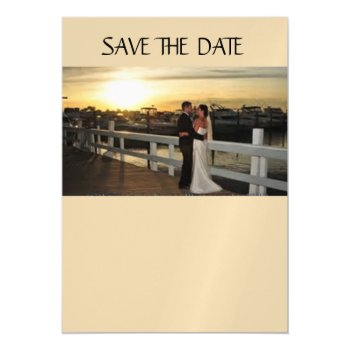 "Custom 5""x7"" Thin Magnetic Card Save The Date by CREATIVEWEDDING at Zazzle"