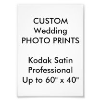 "Custom 5"" x 7"" Professional Photo Prints"