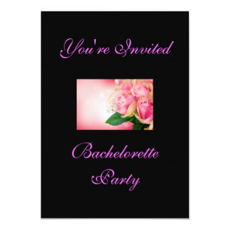 Custom 5x7 Batchelorette Party Invitation Cards