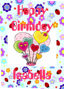 Happy Isabella Gifts on Zazzle