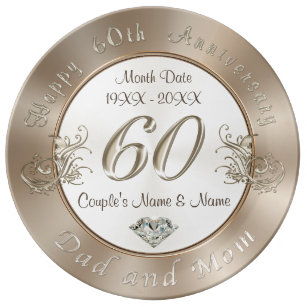 Parents 60th Wedding Anniversary Gifts | Zazzle