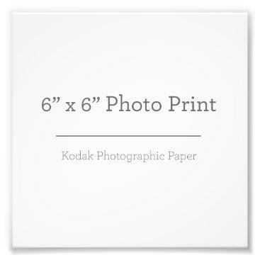 Beach Themed Custom 6 x 6 Photo Print