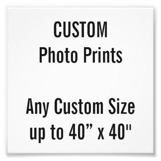 "Custom 6"" x 6"" Photo Print (or any custom size)"