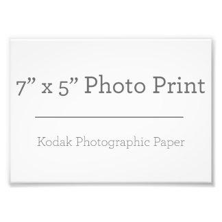 Custom 7 x 5 Photo Print