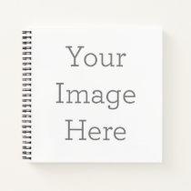"Custom 8.5"" x 8.5"" Harcover Spiral Notebook"