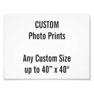 "Custom 8"" x 6"" Photo Print Template"