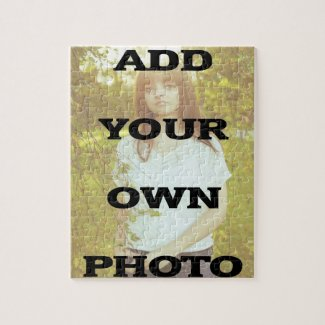 Custom 8x10 Photo Puzzle
