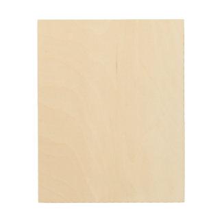 Custom 8x10 Wood Canvas