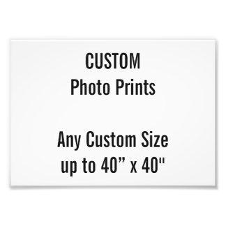 Custom A5 Photo Print UK Frame Size
