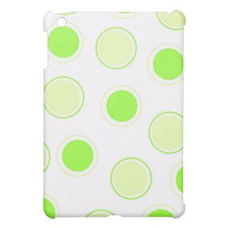 Custom Abstract Circles Plastic iPad Mini Case