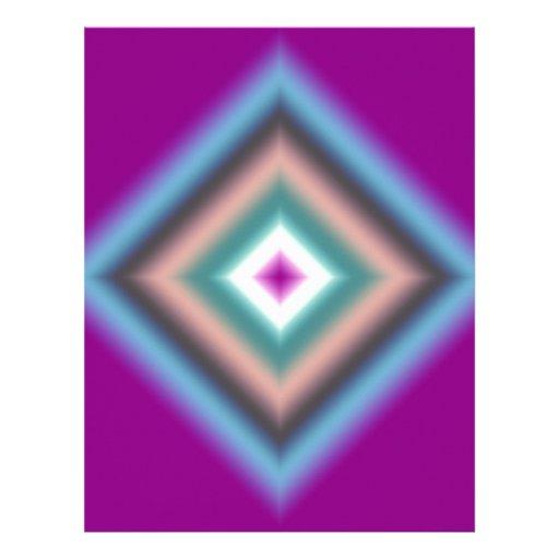 Custom Abstract Design Customized Letterhead