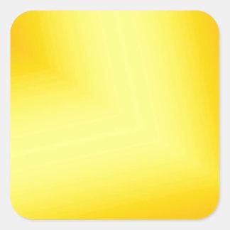 Custom Abstract Design Square Sticker