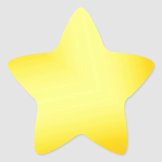 Custom Abstract Design Star Sticker